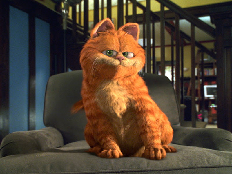 garfield film familie