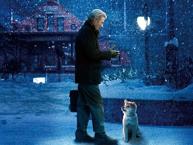 hachi a dog's story film