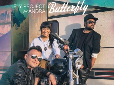 Cea mai tare colaborare a anului: Fly Project si Andra lanseaza piesa Butterfly